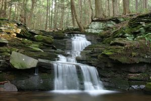 Camp Canfield Falls by ltdlinerider