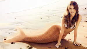 Sepia-tone Mermaid by SeaFairy-Fantasies