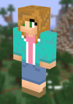 My mc skin because butts by TheSydnieT