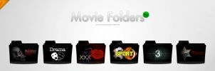 Movie Folders - IconSet by wurstgott