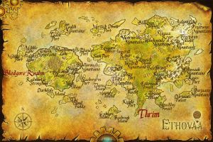 Harbinger Map now with places names by cherrifae