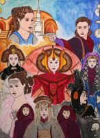The Many Faces of Padme by Beckrum