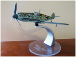 New Addition: Messerschmitt Bf-109E-3 by TheAngryFishbed