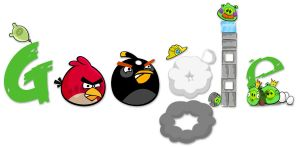 Google Angry Birds by 16eN