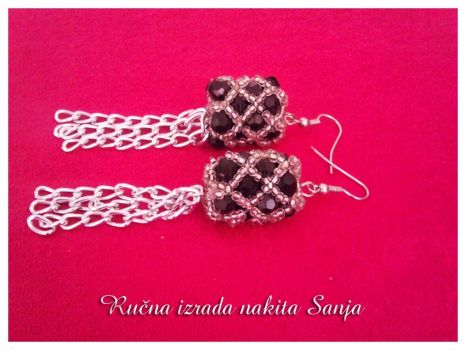 Earrings by Sanjabeads