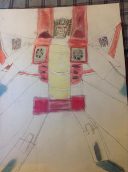 Starscream and an Undecided Adjetive or Action. by TLard