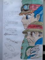 Howl's Moving Castle by Toddiie