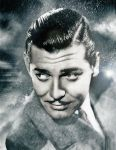 Clark Gable by Ficklestix