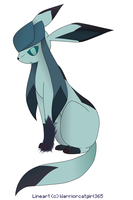 The Restless Glaceon by RainbowDashFatality