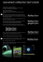 Easy Reflection Tutorial by leavened