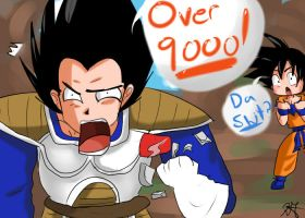 OVER 9000 by HappySmileGear