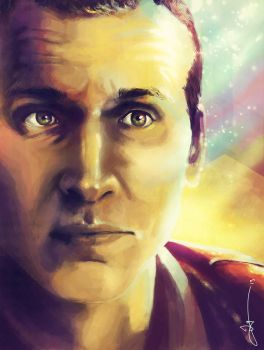 Christopher Eccleston by Jaybirdy