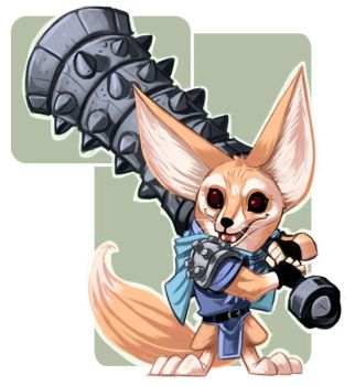 Fennec Fox by stplmstr