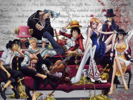 StrawHats Wallpaper by xXxCheekyCandyxXx