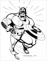Captain America 2 by johnbeatty