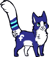 Adopt Facebook Cat (closed) by waterflamewerewolf