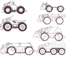 Vehicle Concepts by carlos1170