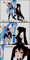 Append ~ Hatsune vs. Zatsune. by Miraii-Scam