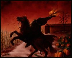 H Halloween HeadlessHorseman by Destinyfall