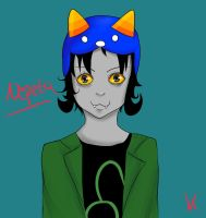 Scary Nepeta by Kathaaa