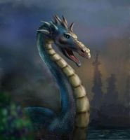 water dragon by posteclypsis