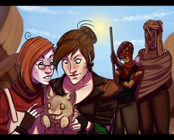 Fallout New Vegas: Collab by Rad-Pax