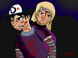 TWD Clementine and me by gienoandyieno