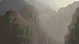 Mountain Cliffs by JoshuaNel