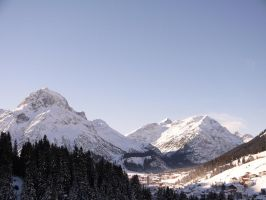 Majestic Alps by Kleevie