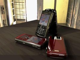Blackberry 8100 render animation by Artsoni3D