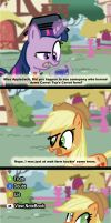 Applejack Lies by CrackerNut