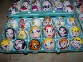 Easter Eggs Disney Fairies by Rene-L