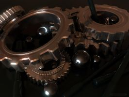 Gears and Spheres by chromosphere
