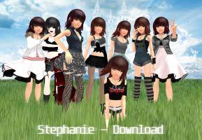 :: DOWNLOAD :: Stephanie Pack by tifany1988