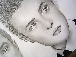 John and Edward by Pinkeyesky
