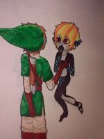 Link x Shaden by Joey-is-gay-as-fuck