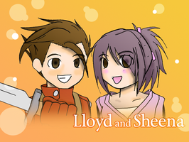 Lloyd and Sheena by L-evation