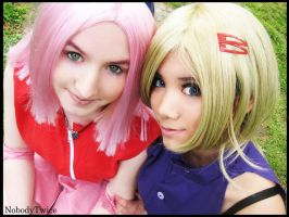 Sakura Ino Cos by NobodyTwice