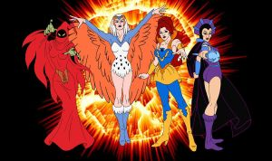 Filmation's witches by FaGian