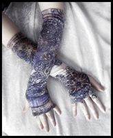 Mirage Arm Warmers by ZenAndCoffee