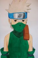 Request - Kid Kakashi Hatake (Copic version) by SakakiTheMastermind