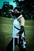 Cosplay: ANBU Tenten - Poised by TaoEmpress