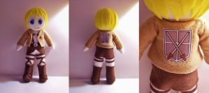 Armin Arlelt plushie by StrawberryParall