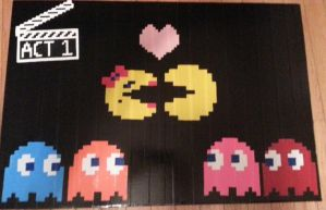 Pacman - Act 1 Print by DuctileCreations