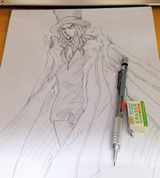 Rob Lucci Sketch by 1121994