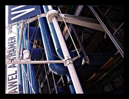 Centre Pompidou by wrenchy