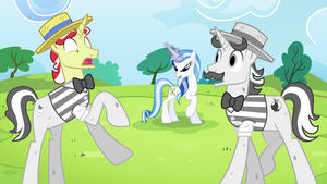 Majesty vs the Flim Flam Brothers by MLP-Silver-Quill