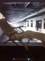 TITANIC DECK CHAIR PAPER MODEL by MarKZ92