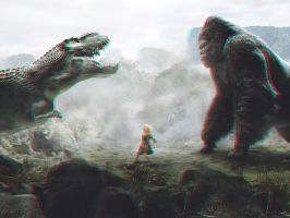 Kong 3-D by MVRamsey