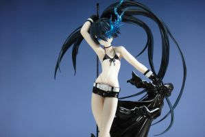 Black Rock Shooter Figure by Weiss-gatto